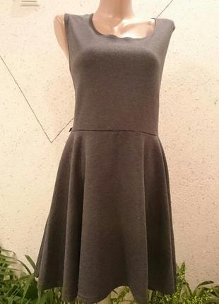Базовое платье меланж1 фото