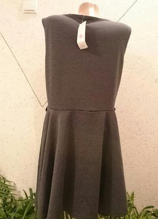 Базовое платье меланж2 фото