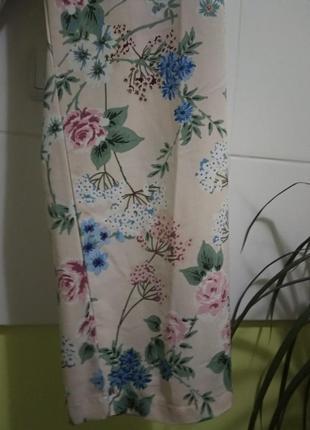 Летние широкие брюки цветочный принт от new look5 фото