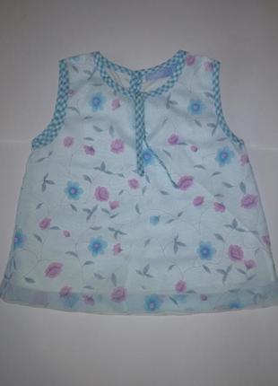 Платье на девочку 86-90 см