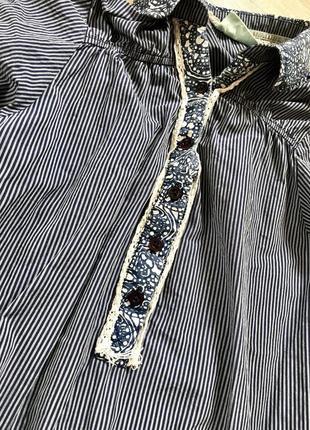 Котонова сукня, плаття, туніка, коттоновое платье туника2 фото