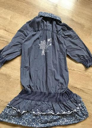 Котонова сукня, плаття, туніка, коттоновое платье туника7 фото