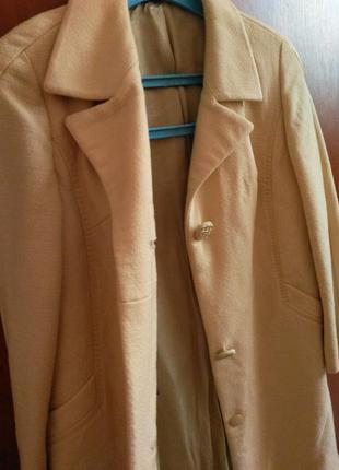 Весняне пальтішко лимонного кольору