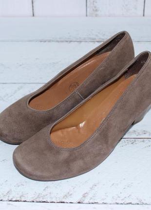 Jenny by ara замшевые туфли на широкую стопу