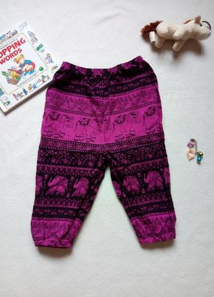 Легкие хлопковые штаны на лето