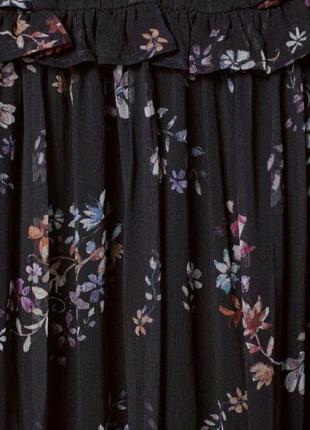 Невероятно красивое, шифоновое платье. h&m2 фото