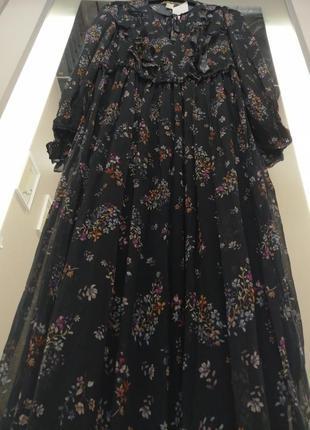 Невероятно красивое, шифоновое платье. h&m3 фото