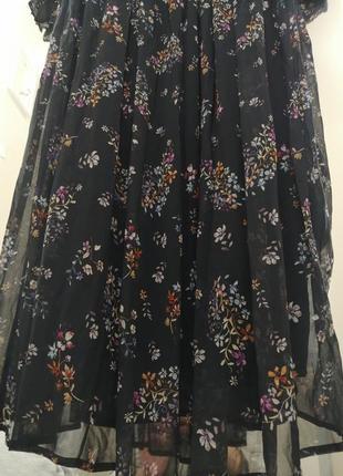 Невероятно красивое, шифоновое платье. h&m5 фото