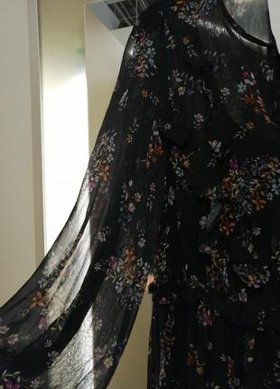Невероятно красивое, шифоновое платье. h&m6 фото