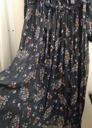 Невероятно красивое, шифоновое платье. h&m8 фото
