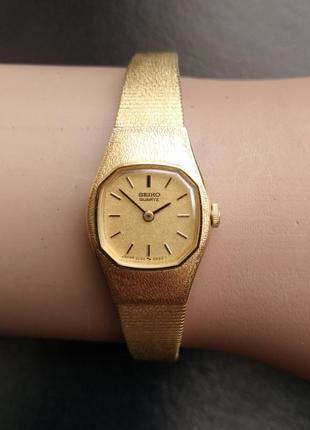 Seiko миниатюрные 2c20-5309 ретро часы с цепочкой оригинал