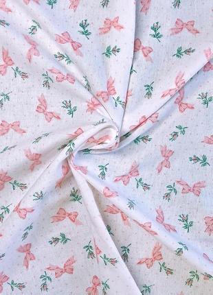 Фланелевая пеленка (бантики) - 90*1002 фото