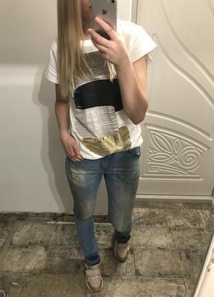 Нереально крутые джинсы со змеиным принтом maryley, италия, оригинал