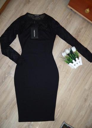 Обалденное новое платье pretty little thing. размер s.