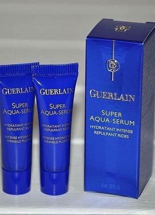 Сыворотка для лица guerlain super aqua-serum объем мини 3мл