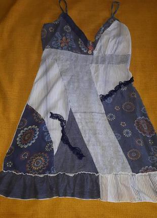 Сарафан цветной варенка р.s/m