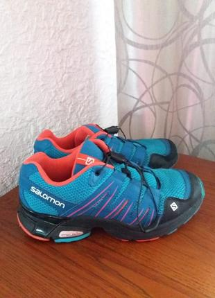 Крутые кроссовки от salomon оригинал