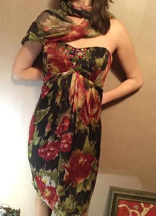 Испания, новое шикарное платье, выпускное платье, вечернее платье, летнее платье