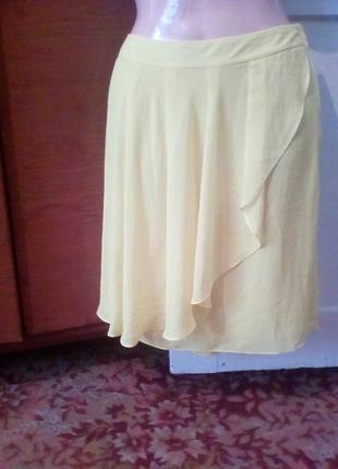 Красивая шифоновая юбка от.h&m.