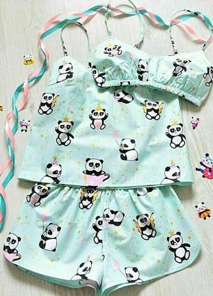 Любимая пижамка в панды