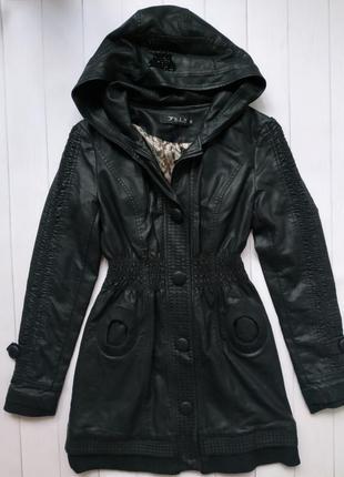Женская куртка кожзам весна-осень размер 38, 40, 42