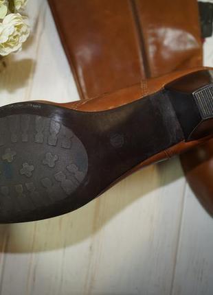 (41/26,5см) pier one! кожа! фирменные красивые сапоги на удобном каблучке4 фото