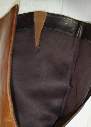 (41/26,5см) pier one! кожа! фирменные красивые сапоги на удобном каблучке3 фото