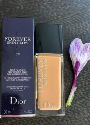 Dior forever skin glow 3w тональный крем оригинал