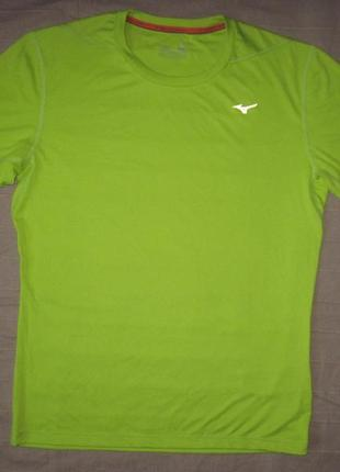 Mizuno tee (m) спортивная футболка мужская