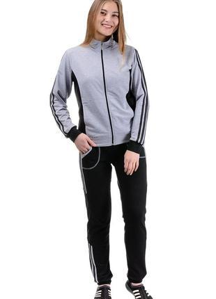 Женский спортивный костюм sport (серый)