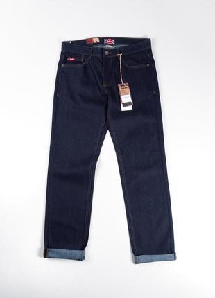 Темно синие зауженные  джинсы lee cooper