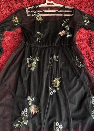 Красивое платье свободного кроя2 фото