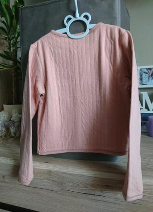 Стильный пиджак kiabi (франция)цвета пудры на 8 лет ❤️3 фото