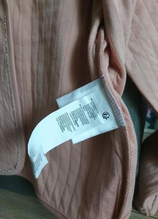 Стильный пиджак kiabi (франция)цвета пудры на 8 лет ❤️4 фото