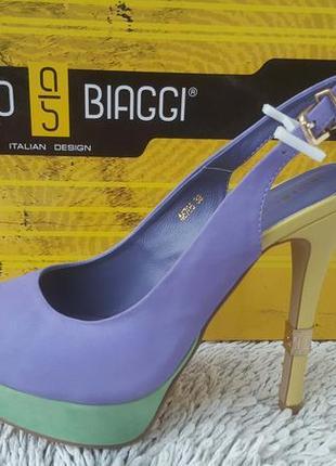 Сногсшибательные гламурные туфли antonio biaggi нубук,кожа