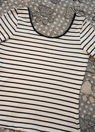 Colin's топ полосатая кофта футболка2 фото