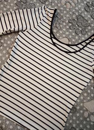 Colin's топ полосатая кофта футболка3 фото