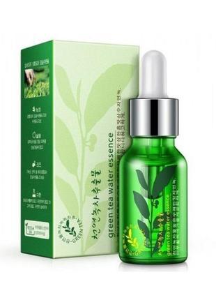 Увлажняющая сыворотка для лица bioaqua на основе экстракта зеленого чая 15 мл