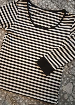 Полосатый топ футболка кофта2 фото