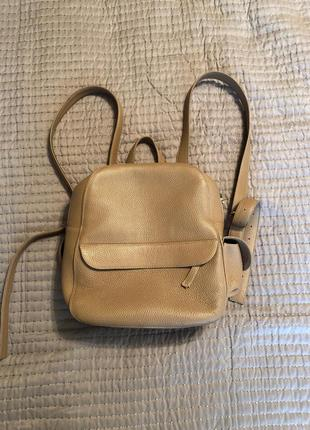 Кожаный рюкзак от качоровской
