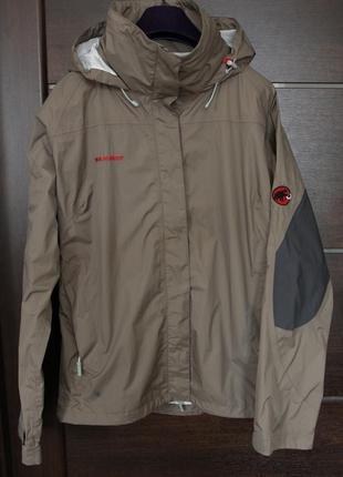Треккинговая куртка ветровка дождевик mammut dry tech