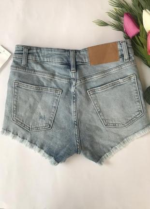 Шорты с потёртостями/рваные шорты/короткие джинсовые шорты3 фото