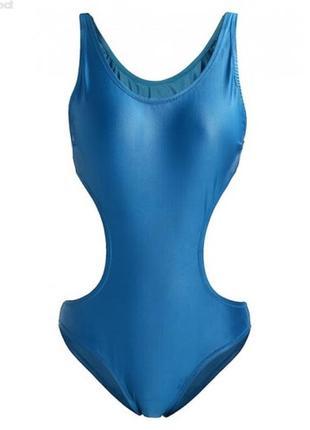 Цельный слитный сдельный закрытый монокини купальник от британского дизайнера xs4 фото