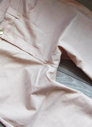 Пудровые джинсы европейский размер 14. состояние идеальное