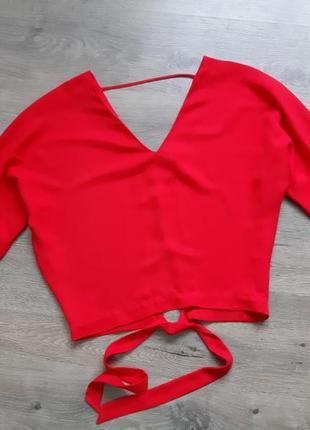 Укороченная кофта женская. блуза. блузка
