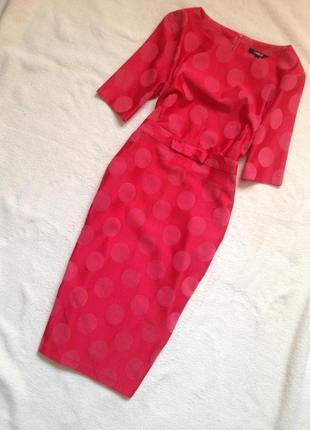 Элегантное платье-футляр из натуральной ткани