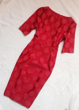 Элегантное платье-футляр из натуральной ткани3 фото
