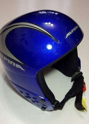 Горнолыжный шлем alpina italy, сост. отличное!