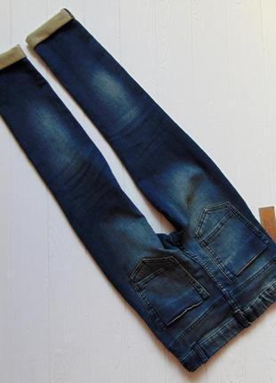 F&f. размер 9-10 лет. новые стрейчевые узкие джинсы для мальчика9 фото