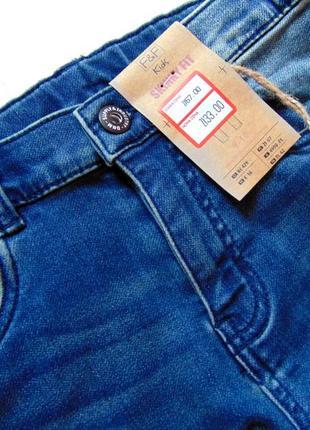 F&f. размер 9-10 лет. новые стрейчевые узкие джинсы для мальчика3 фото
